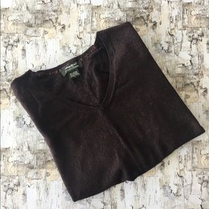 Brown Eddie Bauer sweater